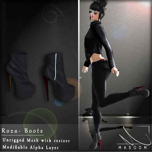 [[ Masoom ]] Roza boots