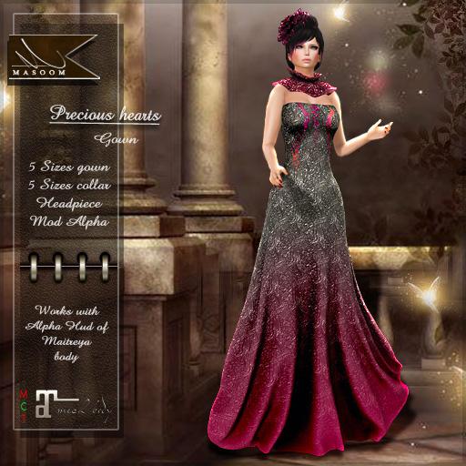 [[ Masoom]]  Precious gown evening